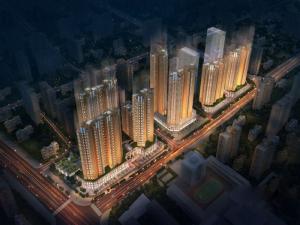 深圳诺德中央道新房楼盘图片