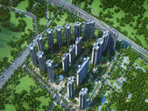 深圳领航城领丽新房楼盘图片