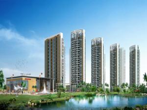 深圳丁山河畔新房楼盘效果图2