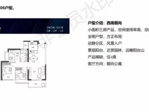 深圳锦顺名居新房楼盘户型图13