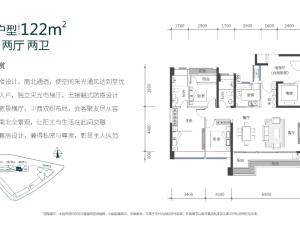 深圳中城宴华府新房楼盘户型图78