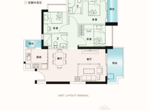 深圳锦顺名居新房楼盘户型图10