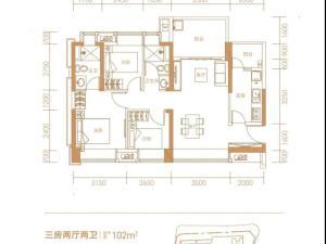 深圳兆邦基碧湖春天新房楼盘户型图62