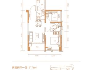 深圳兆邦基碧湖春天新房楼盘户型图65