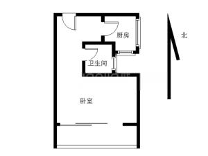 翠园街华隆园 1室0厅 30.73㎡ 简装深圳罗湖区螺岭二手房图片