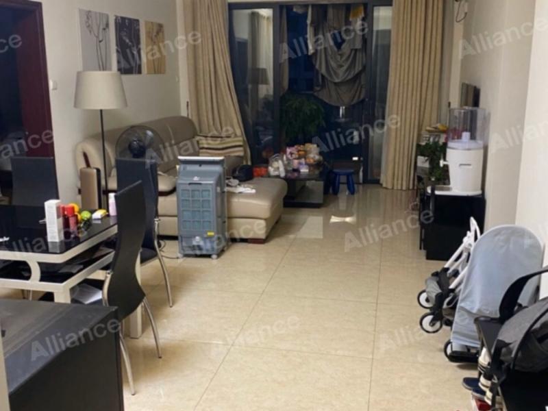 东港印象A区 3室2厅 87.93㎡ 整租_东港印象A区租房客厅图片1