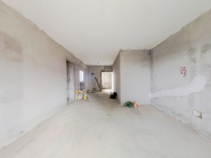 中粮世家 2室2厅 83.44㎡ 毛坯_中粮世家二手房客厅图片4