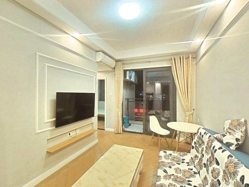 佳华领域广场一期 2室1厅 54㎡ 整租_佳华领域广场一期租房客厅图片1