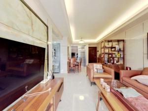 佳兆业前海广场 2室2厅 77.14㎡ 精装_佳兆业前海广场二手房客厅图片3