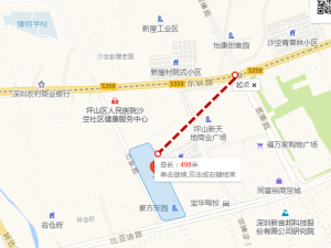 深圳豪方东园新房楼盘交通图12
