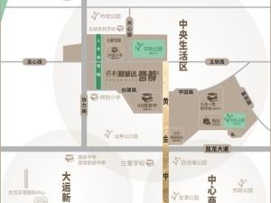 深圳保利勤诚达誉都新房楼盘交通图40