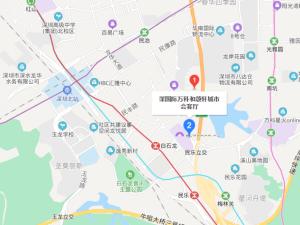 深圳深国际万科和颂轩新房楼盘交通图7